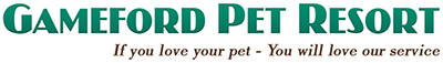 Gameford Pet Resort Logo